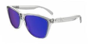 Oakley OO9013 24-305 POLISHED CLEAR VIOLET IRIDIUM