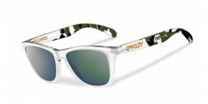 Oakley OO9013 24-436 CLEAR EMERALD IRIDIUM-ERIC KOSTON EDITION